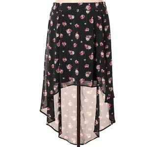 e44ad6e5f88 Torrid high low floral skirt size 20